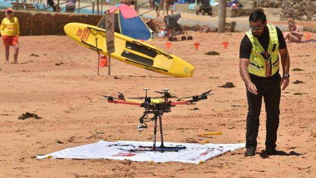Αυστραλία: Drone έσωσε κολυμβητές που κινδύνευαν | tovima.gr