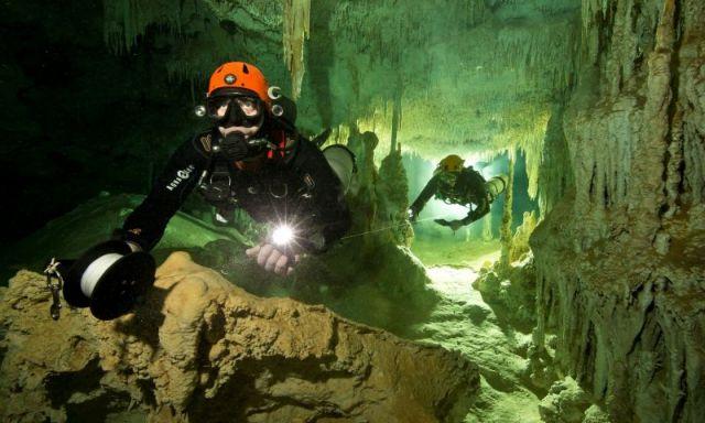 Μεξικό: Ανακαλύφθηκε το μεγαλύτερο δίκτυο λιμναίων σπηλαίων του πλανήτη   tovima.gr