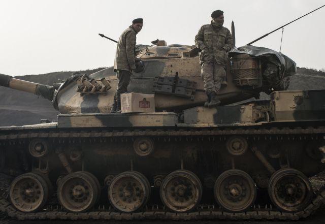 Η Λευκωσία καταδικάζει την τουρκική επιδρομή στο Αφριν   tovima.gr