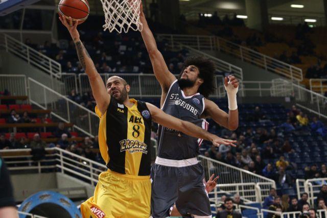 Basketball Champions League: Η ΑΕΚ έχασε από τη Στρασμπούρ | tovima.gr