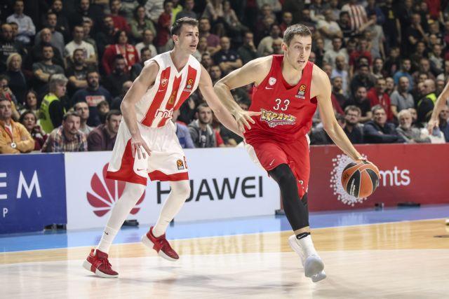 EuroLeague: Ερυθρός Αστέρας – Ολυμπιακός 89 – 78 | tovima.gr