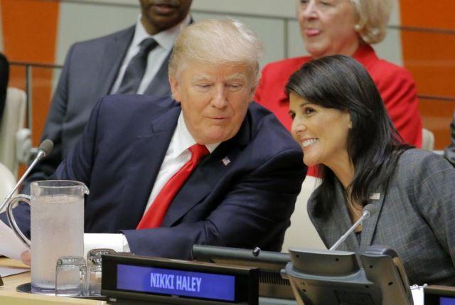 Χέιλι: Αηδιαστική η φήμη ότι έχω σχέση με τον Τραμπ | tovima.gr