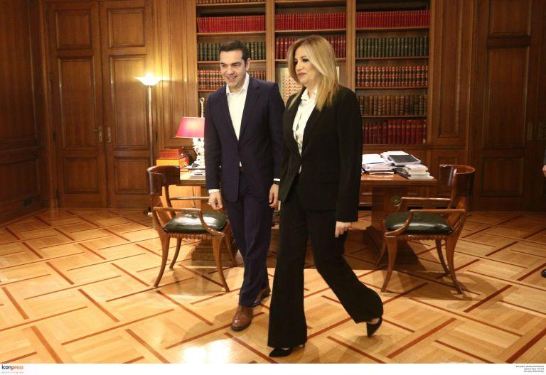 Ολο το παρασκήνιο της συνάντησης Τσίπρα – Γεννηματά   tovima.gr