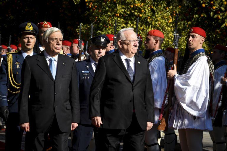 Τη στήριξη του Ισραήλ στα εθνικά θέματα ζήτησε ο Παυλόπουλος | tovima.gr