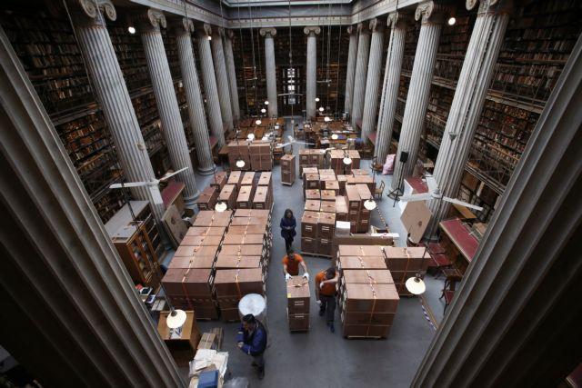 Η Εθνική Βιβλιοθήκη μετακομίζει στο Νιάρχος   tovima.gr