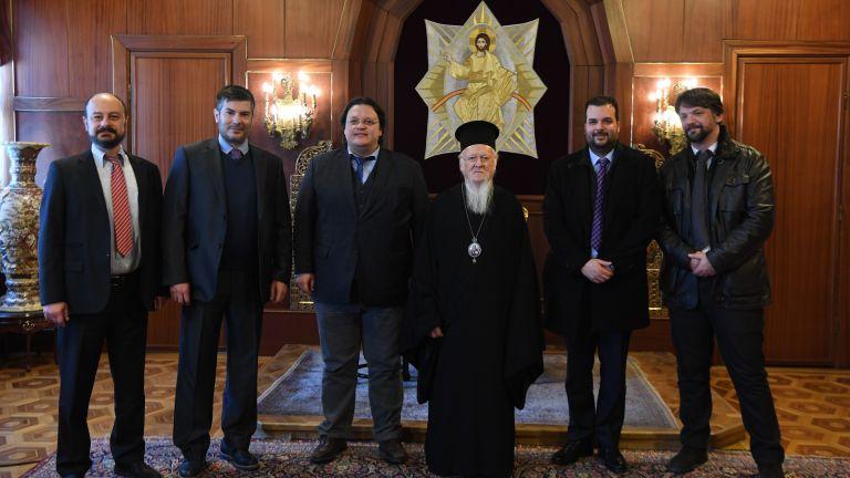 Συνάντηση Δημοκρατικής Ευθύνης με τον Οικουμενικό Πατριάρχη | tovima.gr