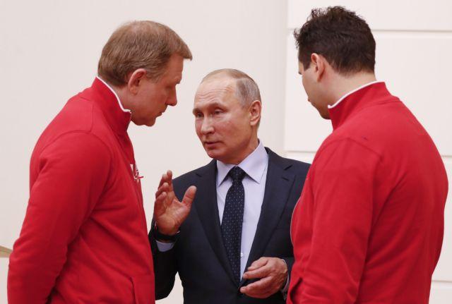 Πούτιν σε ρώσους ολυμπιονίκες: Συγχωρέστε με που δεν μπόρεσα να σας προστατέψω | tovima.gr