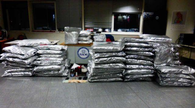 Πάνω από 400 κιλά ακατέργαστη κάνναβη κατάσχεσε το ΣΔΟΕ | tovima.gr