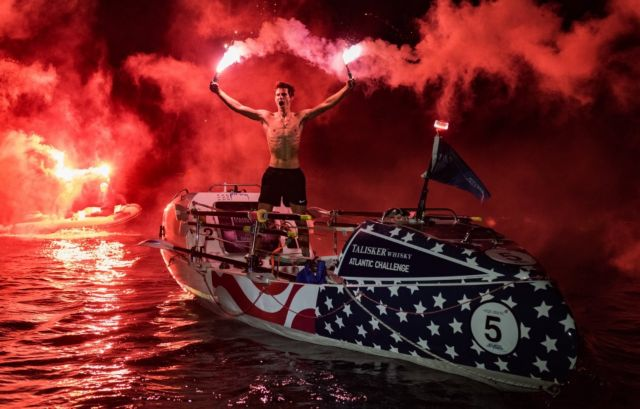 18χρονος διέσχισε κωπηλατώντας τον Ατλαντικό Ωκεανό | tovima.gr