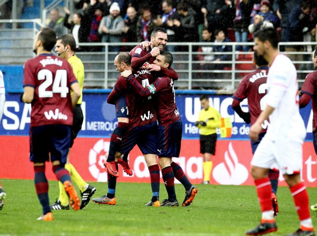 Η Εϊμπάρ συνέτριψε με 5-1 τη Σεβίλη | tovima.gr