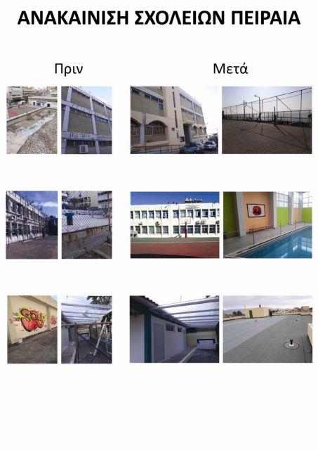 Πειραιάς: Εργασίες επισκευών και ανακαίνισης σχολικών κτιρίων | tovima.gr
