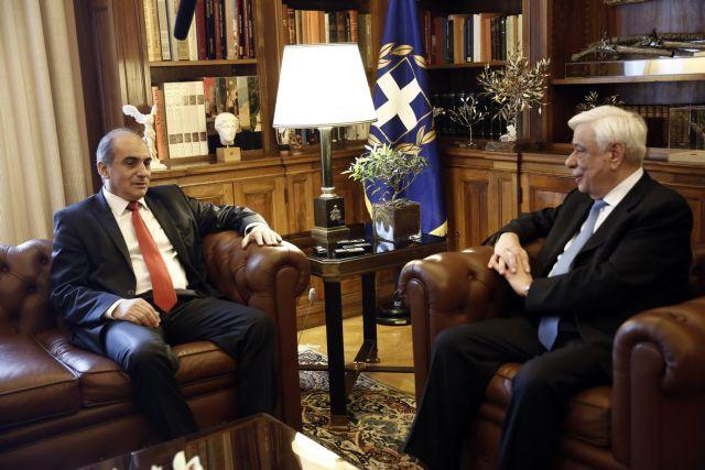 Συνάντηση Παυλόπουλου με τον πρόεδρο της Βουλής της Κύπρου | tovima.gr