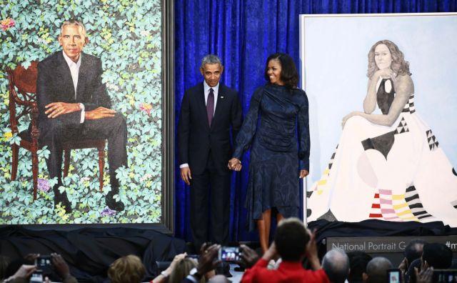 Στη Εθνική Πινακοθήκη των ΗΠΑ τα πορτραίτα των Μπάρακ και Μισέλ Ομπάμα | tovima.gr