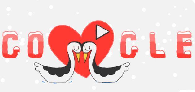 Tο doodle της Google για την ημέρα του Αγ. Βαλεντίνου | tovima.gr