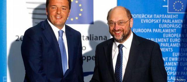 DW-Ρέντσι και Σουλτς: Βίοι παράλληλοι; | tovima.gr