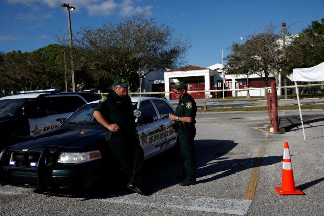 Φλόριντα: Πυροβολισμοί σε λύκειο με ένα τραυματία   tovima.gr