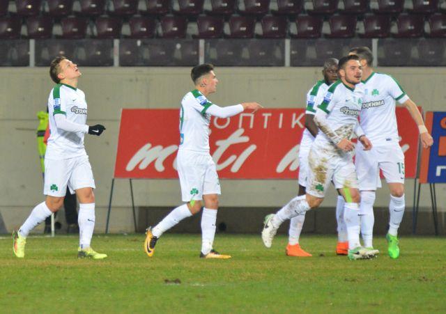 Πρώτη εκτός έδρας νίκη του Παναθηναϊκού, 1-0 στη Λάρισα | tovima.gr