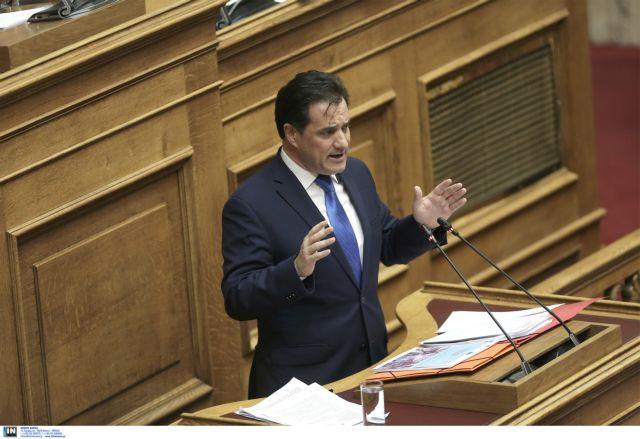 Γεωργιάδης για Novartis: Η κυβέρνηση υπέστη πανωλεθρία | tovima.gr