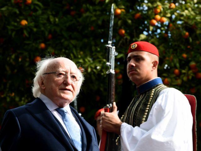 Δεύτερη μέρα του Προέδρου της Ιρλανδίας στην Αθήνα | tovima.gr