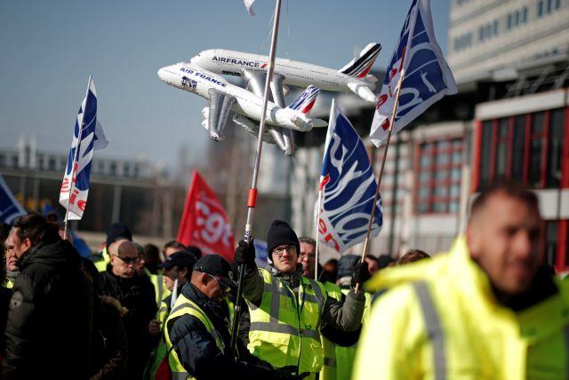 Νέα απεργιακή κινητοποίηση των εργαζομένων στην Air France   tovima.gr
