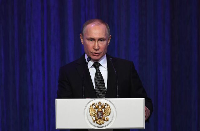 Πούτιν: Ισχυρές ένοπλες δυνάμεις εγγυώνται την ανάπτυξη | tovima.gr