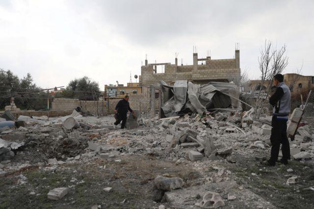 Συρία: Πάνω από 25 άμαχοι νεκροί από αεροπορικές επιδρομές | tovima.gr