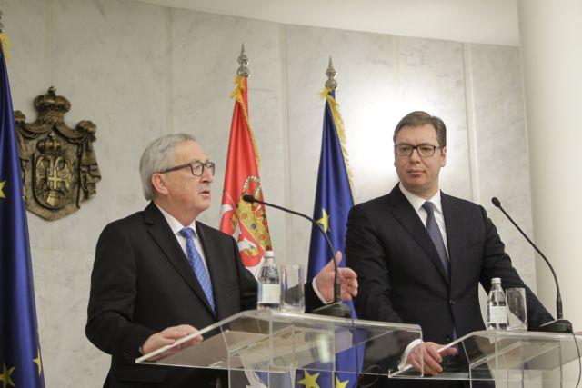 Γιούνκερ: Προοπτική το 2025 για τα Δυτ. Βαλκάνια, όχι δέσμευση | tovima.gr