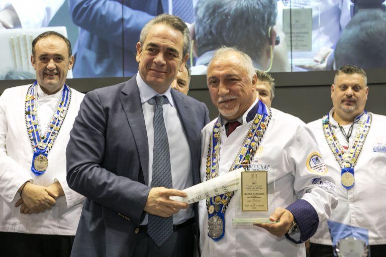 Ο Μίλτος Καρούμπας παγκόσμιος πρεσβευτής της ελληνικής γαστρονομίας | tovima.gr