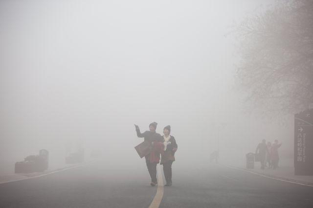 Κίνα: Κίτρινος συναγερμός για χιονοθύελλα | tovima.gr