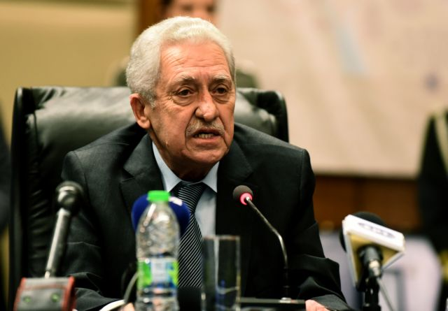 Κουβέλης: Έχουν γίνει και συνεχίζονται τα δέοντα για τους δύο στρατιωτικούς | tovima.gr