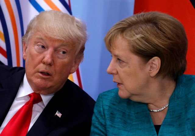 Μέρκελ-Τραμπ ζητούν άμεση κατάπαυση του πυρός στη Συρία | tovima.gr