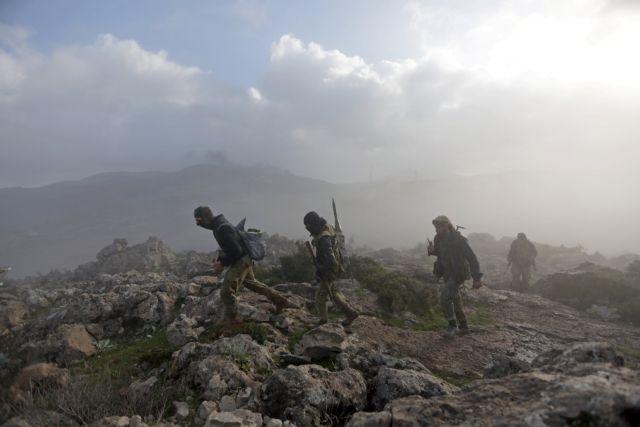 Αραβες παίρνουν θέση δίπλα στους Κούρδους στο Αφριν   tovima.gr