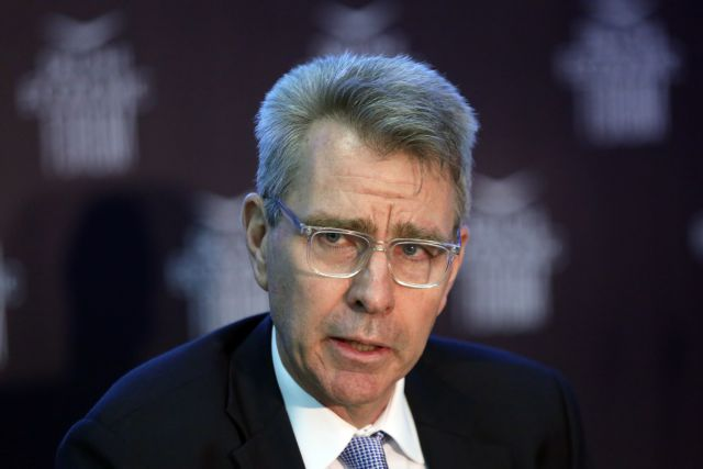 Pyatt supports Tsipras' quest to engage with Turkey, return of Greek officers | tovima.gr