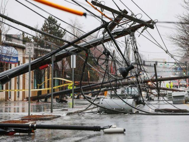 Τουλάχιστον 7 νεκροί από την καταιγίδες που σάρωσαν τις βορειοανατολικές ΗΠΑ   tovima.gr