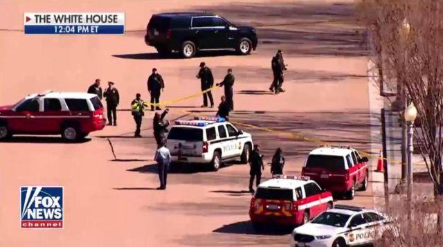 ΗΠΑ: Άντρας αυτοπυροβολήθηκε έξω από τον Λευκό Οίκο | tovima.gr