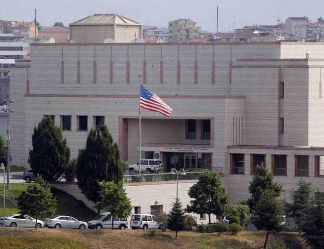 Κλειστή τη Δευτέρα «λόγω απειλής» η αμερικανική πρεσβεία στην Άγκυρα | tovima.gr