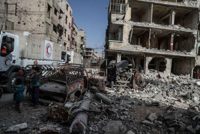 ΟΗΕ: Έγκλημα πολέμου οι βομβαρδισμοί Ρωσίας και ΗΠΑ στην Συρία | tovima.gr