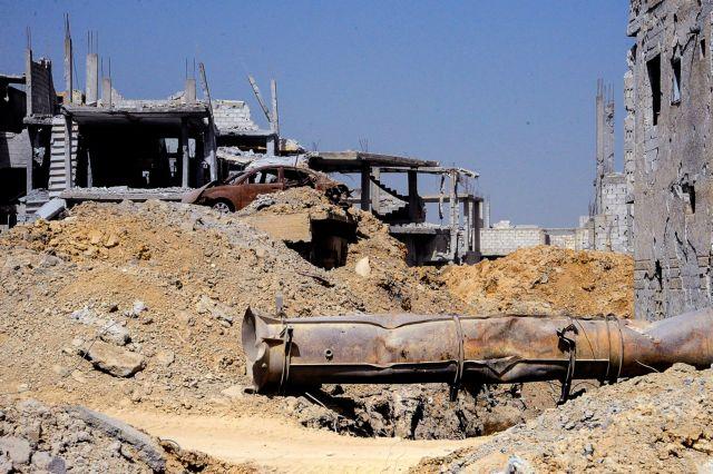 Συρία: Η Γούτα έχει κοπεί στα δύο από φιλοκυβερνητικές δυνάμεις | tovima.gr