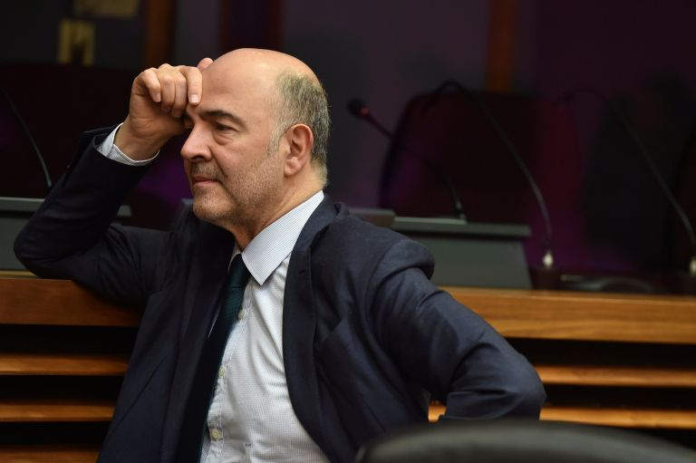 Moscovici calls on IMF to temper its stance towards Greece   tovima.gr