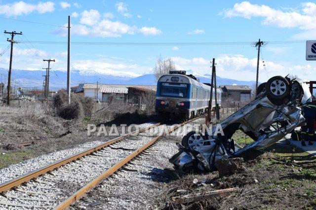 Φλώρινα: Ενας νεκρός από σύγκρουση ΙΧ με αμαξοστοιχία του ΟΣΕ | tovima.gr