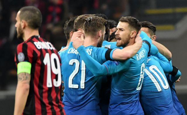 Europa League: Βήμα πρόκρισης για Άρσεναλ και Ατλέτικο   tovima.gr