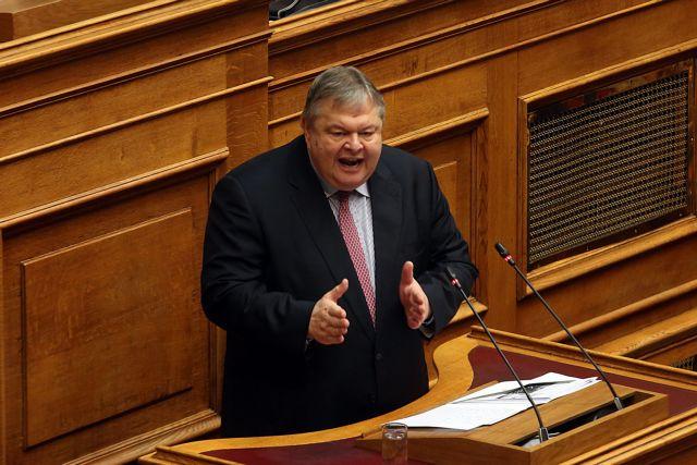 Επίθεση Βενιζέλου κατά κυβέρνησης: «Τελείωσε ο πολιτικός σας χρόνος» | tovima.gr