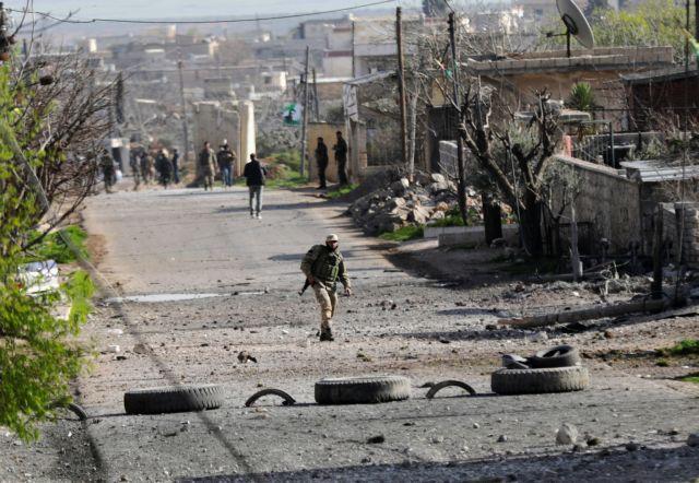 Συρία: Οχι στην τουρκική στρατιωτική παρουσία στην Μανμπίτζ | tovima.gr