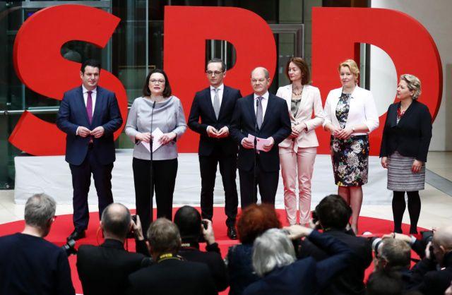 Ποιοι είναι οι υπουργοί του SPD που μπαίνουν στην κυβέρνηση | tovima.gr