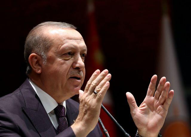 Ερντογάν: Ελπίζω πως η Αφρίν θα έχει πέσει «μέχρι το βράδυ»   tovima.gr