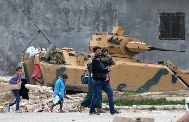 Συρία: Ο τουρκικός στρατός προ των πυλών στο Αφρίν | tovima.gr