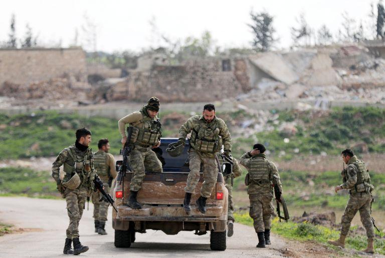 Τουρκικός στρατός: Εχουμε περικυκλώσει το Αφρίν | tovima.gr