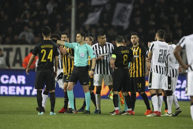 Σωστή η απόφαση του Κομίνη να ακυρώσει το γκολ – οφσάιντ του ΠΑΟΚ | tovima.gr