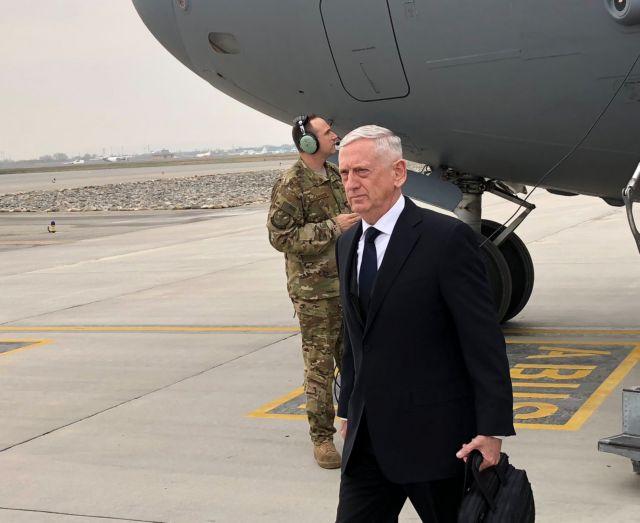 Στο Αφγανιστάν ο υπουργός Αμυνας των ΗΠΑ Τζιμ Ματίς | tovima.gr