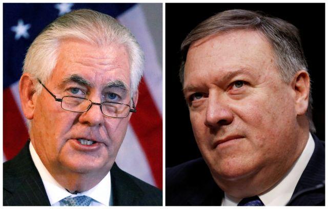 ΗΠΑ: Εντός της ημέρας η συνάντηση Πομπέο – Τίλερσον | tovima.gr